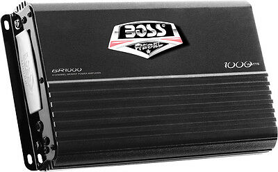 Boss Audio Systems 1000W 4 Channel Full Range Class A/B Amplifier