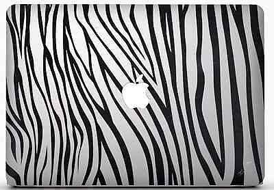 "Stickers Zebre Pour Macbook Pro Air Retina Autocollants Decal 13"" Pouces"