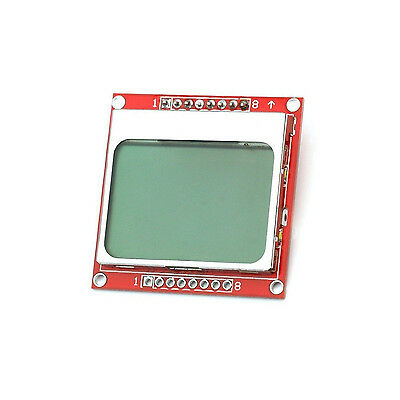 1PCS 84x84 LCD Module White backlight adapter PCB for Nokia 5110