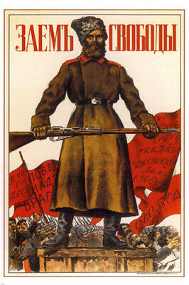 PROPAGANDA VINTAGE POSTER 1951 In the Name of Communism RARE HOT NEW 24x36