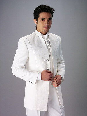 Mens Wedding Suits Groom Tuxedos Business Suits Evening Suits Best Man Tailcoats