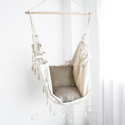 HAMMOCK CHAIR Deluxe French Provincial Hanging Relax in Luxury and Comfort New