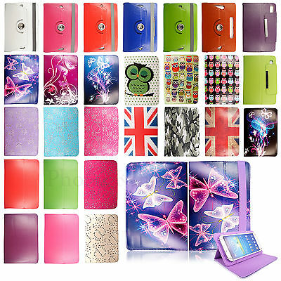 New Universal Wallet Leather Case Cover fits For 10.1 inch Android Tablet tab PC