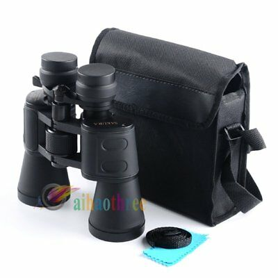 SAKURA 50mm Tube 10x-180x100 Super Zoom HD Night Vision Binoculars Waterproof【AU