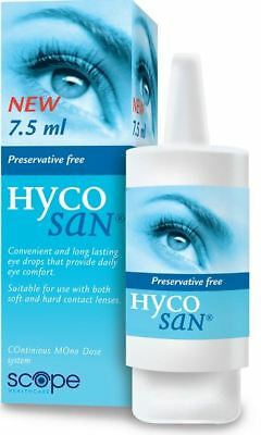 Hycosan Original Preservative-Free Lubricating Eye Drops 7.5ml