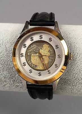 Disney Scrooge McDuck Gold Watch - DS-131 - Carl Barks NEW