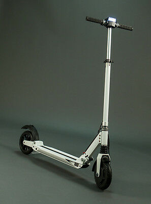 E-Twow Electric Two Wheeler White Adult Kick Scooter Booster Model 33V 6.5 Amp