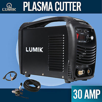 30A Lumik Plasma Cutter DC IGBT Inverter Welder Portable Gas/Air Cutting Display