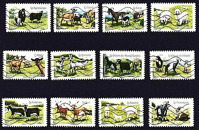 France 2015 Goats of the French Regions Stamps P Used S/A
