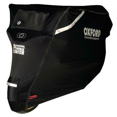 Oxford Protex Stretch Premium Stretch Fit Outdoor Motorcycle Cover - Medium