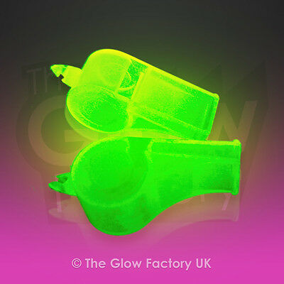 Glow in the Dark Whistles Glowing Wholesale Whistle