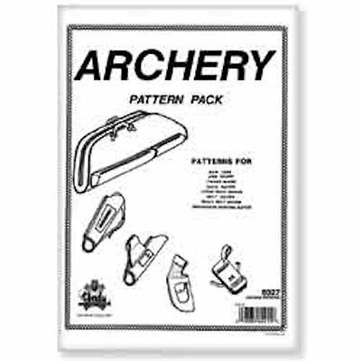 Tandy Leather Archery Pattern Pack 6027-00 …
