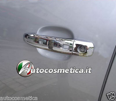 COVER IN ABS MANIGLIE In abs Cromo Cromate CON KEYLESS AUDI Q3 Q5 Q7 A4 A3 A1