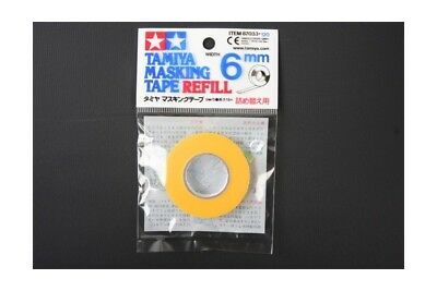 TAMIYA 87033 Recharge Bande Cache 6mm - Masking Tape Refill 6mm