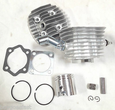 """47mm 66cc 80CC Motorized Bicycle Engine parts- TOPEND  15/16"""" 8mm silver"""