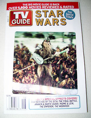 TV GUIDE 1999 #2718 STAR WARS Revenge Sith Wookiees VF/VF+ Lenticular cover