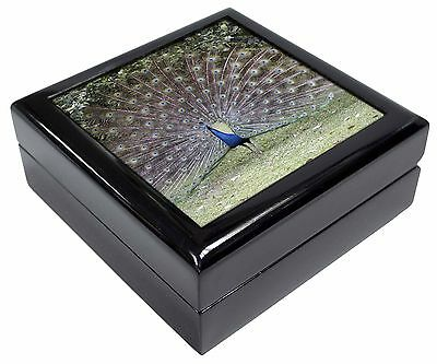 Colourful Peacock Picture Jewellery Box Christmas Gift, AB-PE76JB