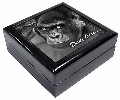 Welsh Gorilla 'Dadi Oeri' Keepsake/Jewellery Box Christmas Gift, AM-6doJB