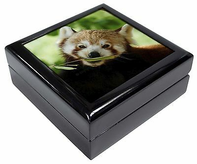 Cute Red Panda Picture Jewellery Box Christmas Gift, ARP-2JB