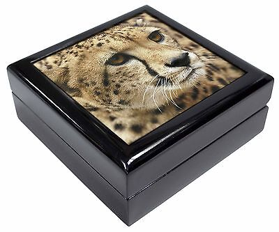 Cheetah Picture Jewellery Box Christmas Gift, AT-36JB
