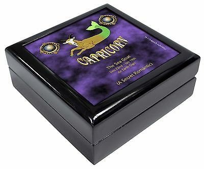 Capricorn Star Sign Birthday Gift Keepsake/Jewellery Box Christmas Gif, ZOD-10JB