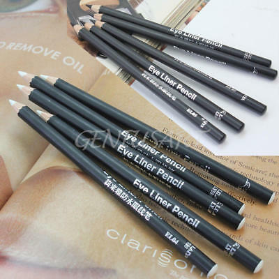 5Pcs Women Girls Smooth Makeup Cosmetic Pen Eye Liner Eyeliner Pencil Waterproof