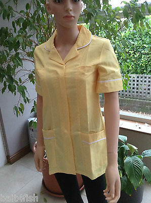 professional Lemon Healthcare Tunic Pharmacy Vet Cleaner Nurse Dental Medical