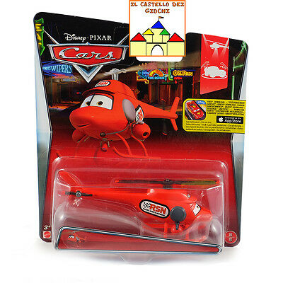 CARS Personaggio KATHY COPTER in Metallo scala 1:55 by Mattel CMX89