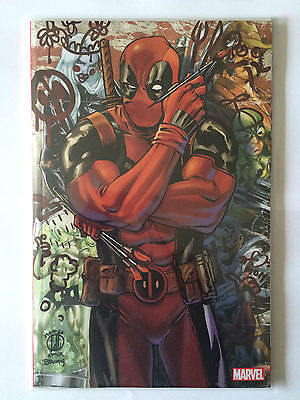 Panini Comics Marvel Deadpool 15 Nov 2015 Cover Collector Lolli Comic Con