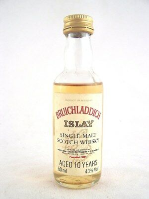 Miniature circa 1978 BRUICHLADDICH 10YO Islay Malt Whisky Isle of Wine
