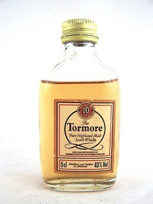Miniature circa 1971 TORMORE 10YO Malt Whisky Isle of Wine