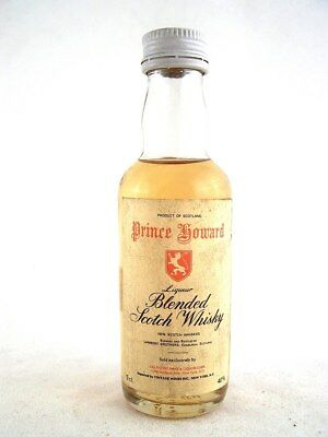Miniature circa 1976 PRINCE HOWARD Scotch Whisky Isle of Wine