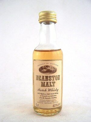 Miniature circa 1974 DEANSTON Malt Whisky Isle of Wine