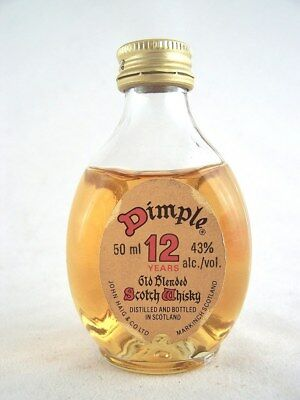 Miniature circa 1983 JOHN HAIG DIMPLE 12YO Scotch Whisky Isle of Wine