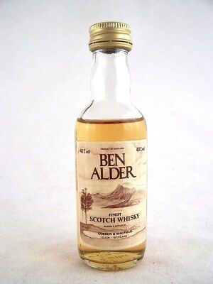 Miniature circa 1982 BEN ALDER Scotch Whisky Isle of Wine