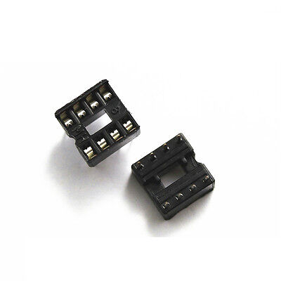 30PCS 8 Pin DIP8 Integrated Circuit IC Sockets Adaptor Solder Type