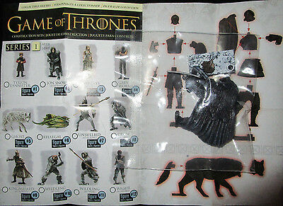 Mcfarlane Game Of Thrones Series 1 Crow Collectible Figure Blind Bag Knights