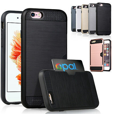 New Credit Card ShockProof Tough Strong Case Cover For iPhone 5 5S SE6 6S Plus 7