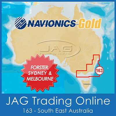 Navionics Gold Small Card - 8G163S South East Australia - Gps Map Chart