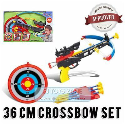 King Sport Kids Children Outdoor Toy Archery Set / Crossbow Bow Set with Target