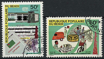 Benin 1979 SG#765-766 Posts And Telecommunications Cto Used Set #D2411