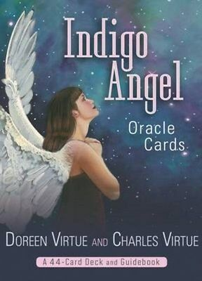 Indigo Angel Oracle Cards 9781401934989 by Doreen Virtue, Cards, BRAND NEW
