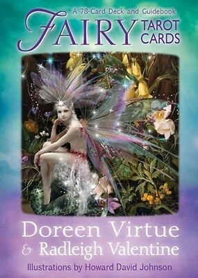 Fairy Tarot Cards: A 78-Card Deck and Guidebook 9781401945404 by Doreen Virtue