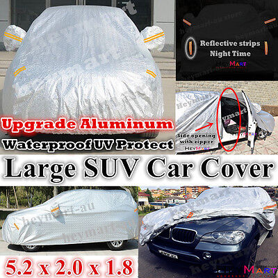 large cover waterproof car cover rain resistant UV protect SUV large car cover