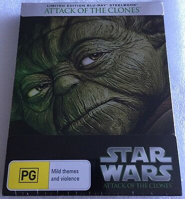 Star Wars II: Attack Of The Clones Steelbook - Exclusive Limited Edition Blu-Ray