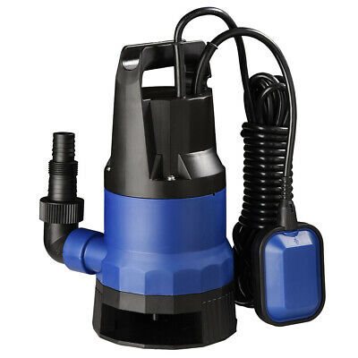 1HP 3432GPH Submersible Dirty Clean Water Pump Swimming Pool Flood Flooding Pond
