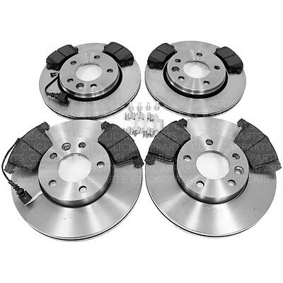 VW Transporter T5 1.9 Tdi 2.5 2003-2009 Front & Rear Brake Discs And Pads New