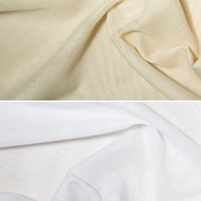 90cm Wide Indian Butter Muslin Fabric 100% Cotton Cheesecloth