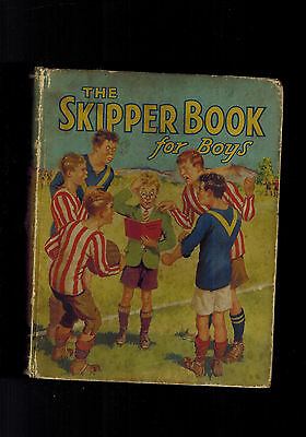 SKIPPER BOOK FOR BOYS 1935 vintage annual