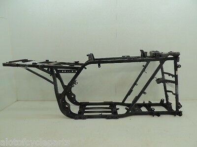 98 Yamaha Grizzly 600 4X4 Yfm600 Frame Chassis Main W/ T Straight Cln Clr Ez D